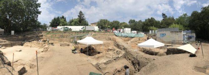 La fouille de la Visitation, une mine de trésors antiques à Lyon (vidéo) By Jack35 2-8