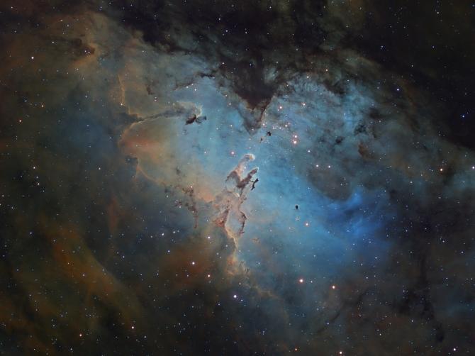 L'image du jour : La nébuleuse de l'Aigle, M16 (vidéo) By Jack35 1-47