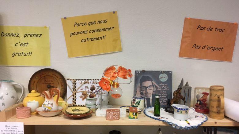 Bretagne La Boutique Sans Argent Donner Et Prendre Sans
