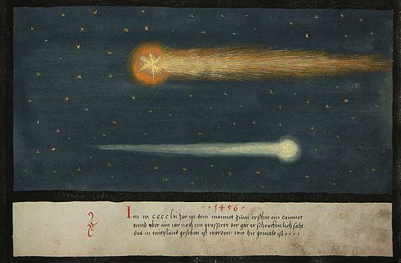 Présages célestes : 1456: Calixte III et la comète de Halley (vidéo) By Jack35 1-52