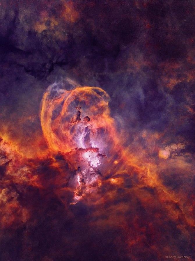 L'image du jour : Région de formation des étoiles de NGC 3582 sans étoiles (vidéo) By Jack35 1-6