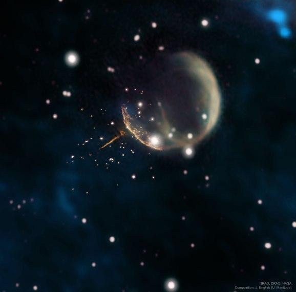 L'image du jour : Une étoile à neutrons se projetant comme un boulet de canon, PSR J0002 (vidéo) By Jack35 1-79