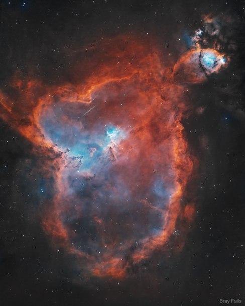 L'image du jour : La nébuleuse du cœur, IC 1805 (vidéo) By Jack35 1-58