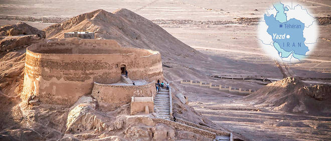 Rituels funéraires : Tour du silence Zoroastrisme, Iran (vidéo) By Jack35 1-97