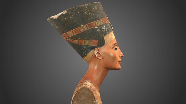 Scan 3D longtemps caché du buste de l'Egypte ancienne de Nefertiti enfin révélé (vidéo) By Jack35 2-14