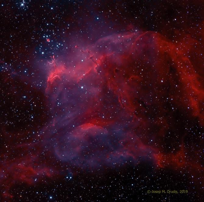 L'image du jour : NGC 3572 et les têtards du sud (vidéo) By Jack35 1-21