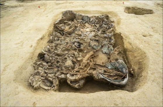 Tombe princière d'un homme mystérieux de l'âge du fer découverte en Italie (vidéo)By Jack35 5-12