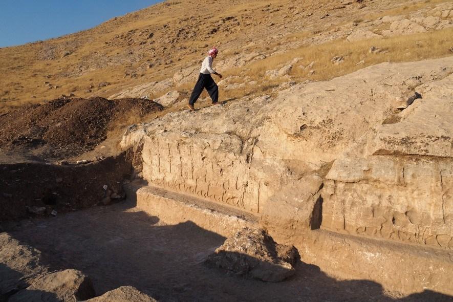 Découverte de reliefs assyriens extrêmement rares en Irak (vidéo) By Jack35 3-11