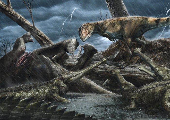 Les paléontologues pensent avoir trouvé «l'endroit le plus dangereux» de l'histoire de la Terre (vidéo) By Jack35 2-20