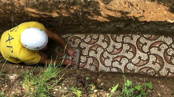 En Italie, sous les vignes, les mosaïques (vidéo) By Jack35 1-100