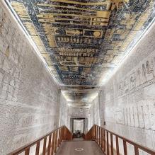 Une visite virtuelle 3D dans le tombeau du pharaon Ramsès VI (vidéo) By Jack35 1-60