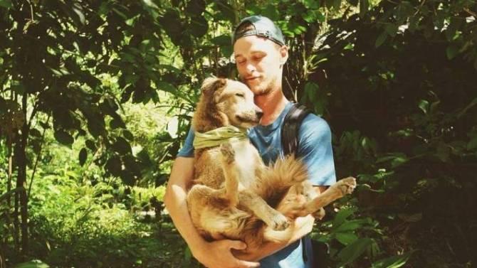 Pourquoi un homme fait le tour du monde avec son chien (vidéo) By Jack35 1-95