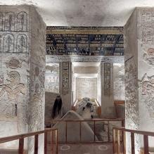 Une visite virtuelle 3D dans le tombeau du pharaon Ramsès VI (vidéo) By Jack35 2-14