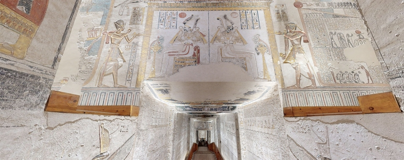 Une visite virtuelle 3D dans le tombeau du pharaon Ramsès VI (vidéo) By Jack35 3-10