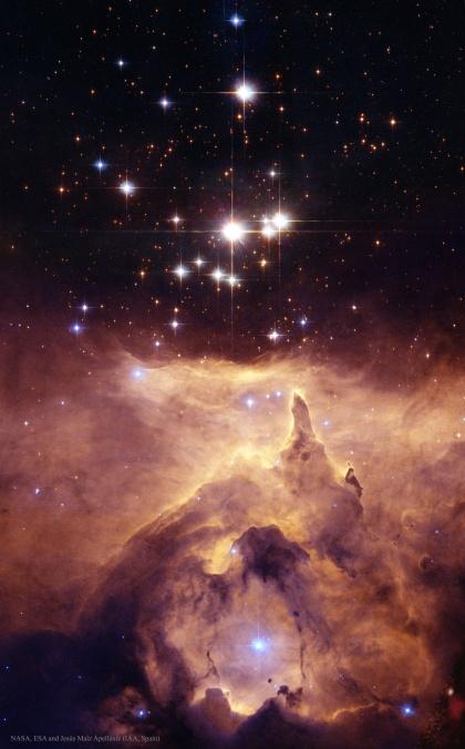 L'image du jour : NGC 6357 : Cathédrale aux étoiles massives (vidéo) By Jack35 1-13