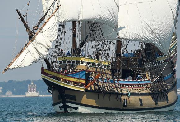 Le « Mayflower », une page de l'histoire coloniale anglaise (vidéo) By Jack35 1-24