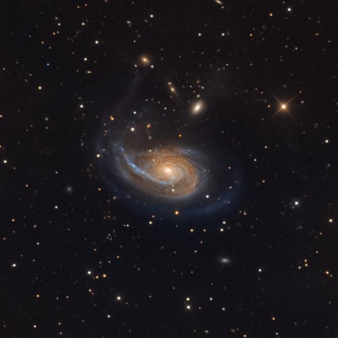 L'image du jour : La galaxie Arp 78, NGC 772 (vidéo) By Jack35 1-48