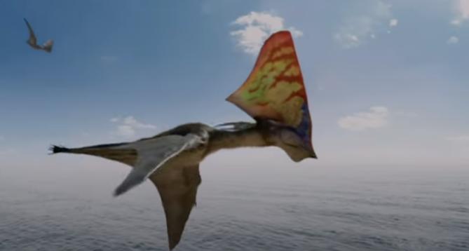 Un ptérosaure aussi grand qu'un avion (vidéo) By Jack35 Capture-1