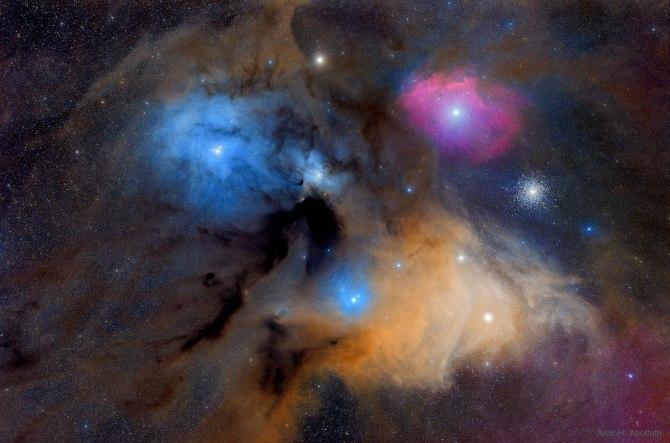 L'image du jour : Les nuages colorés de Rho Ophiuchi (vidéo) By Jack35 1-26