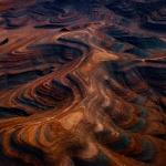 Des photographies aériennes frappantes du paysage aride de la Namibie apparaissent comme des peintures abstraites (galerie) By Jack35 7-10