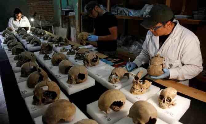 Une effrayante tour de crânes au Mexique nous en apprend plus sur la civilisation aztèque (vidéo) By Jack35 1-56