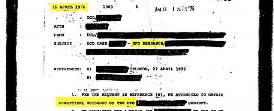 Chaque document que la CIA dit avoir sur les ovnis est maintenant disponible au téléchargement (vidéo) By Jack35 1-40