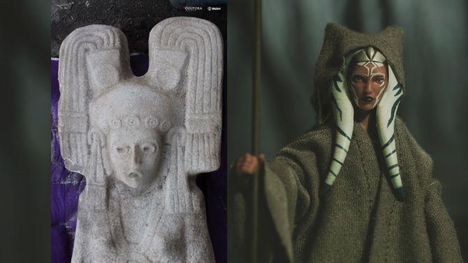 Mexique : statue d'une femme mystérieuse avec une coiffe semblable à celle de Star Wars (diaporama et vidéo) By Jack35 1-41
