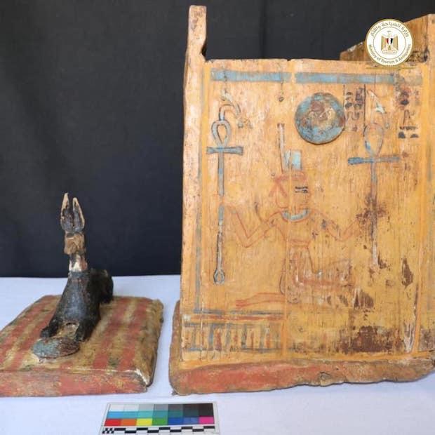L'Égypte dévoile de nouveaux trésors archéologiques (diaporama et vidéo) By Jack35 2-11