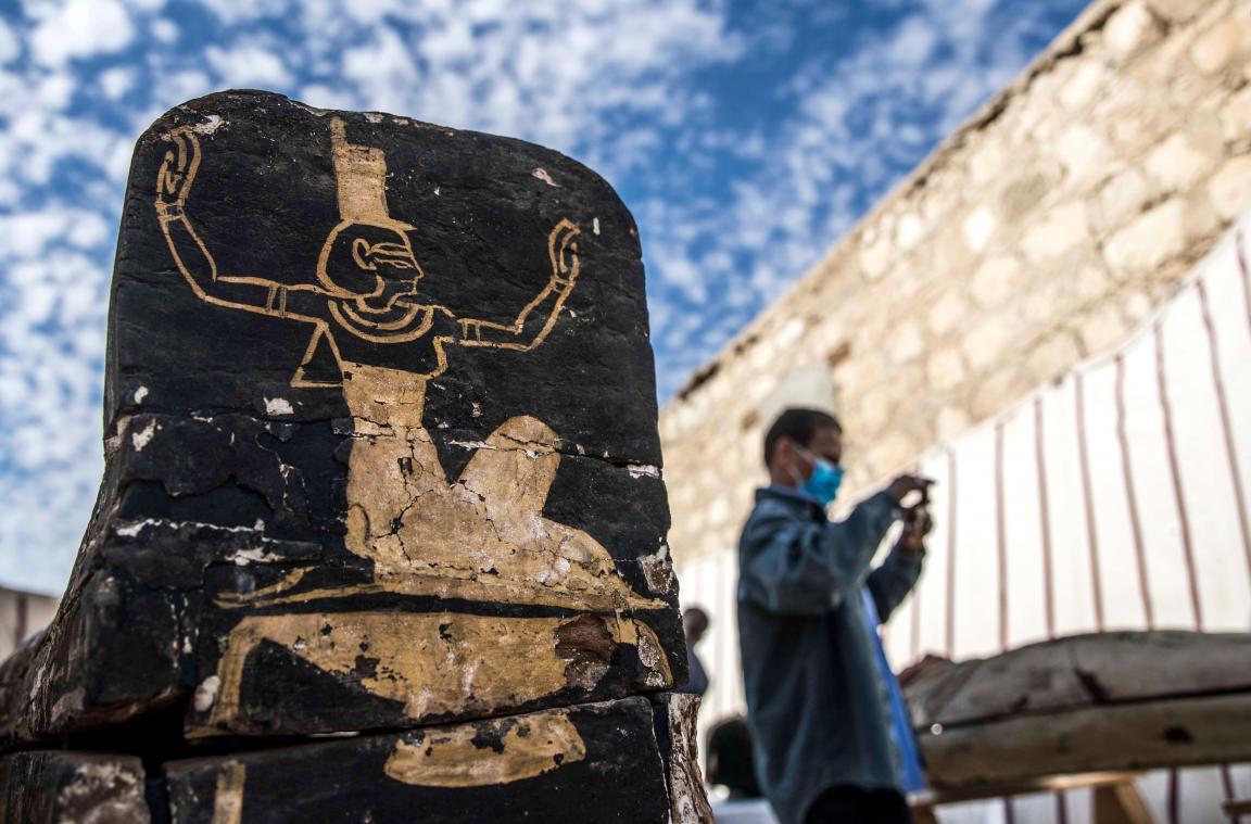 L'Égypte dévoile de nouveaux trésors archéologiques (diaporama et vidéo) By Jack35 4-8