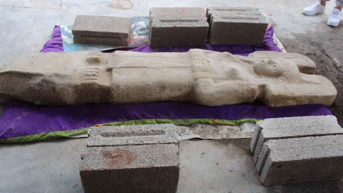 Mexique : statue d'une femme mystérieuse avec une coiffe semblable à celle de Star Wars (diaporama et vidéo) By Jack35 6-6