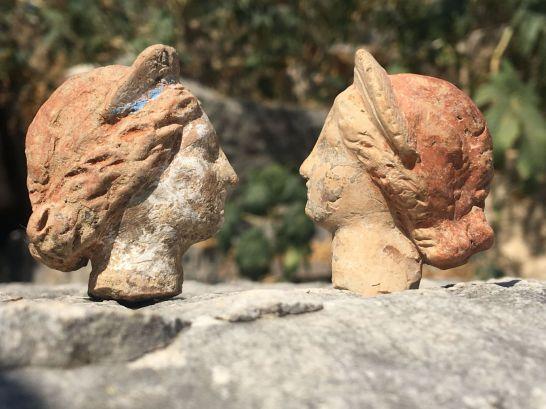 Dieux grecs et anciens mortels «  ressuscités  » dans des figurines en terre cuite découvertes en Turquie (vidéo) By Jack35 1-20