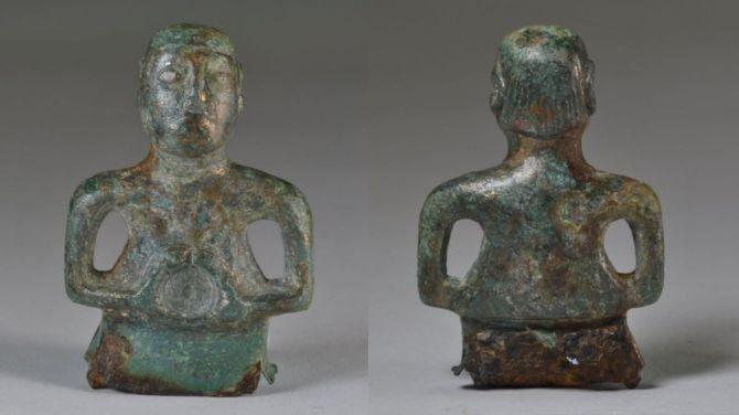 Dieu celtique ou joueur de hockey des années 1980 ? Ancienne statue de divinité porte un mulet et une moustache (vidéo) By Jack35 1-55