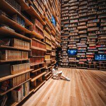 Le musée de la culture Kadokawa de Tokyo abrite un théâtre de bibliothèque (galerie et vidéo) By Jack35 5-9