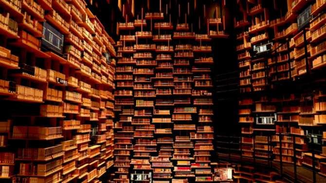 Le musée de la culture Kadokawa de Tokyo abrite un théâtre de bibliothèque (galerie et vidéo) By Jack35 7-6