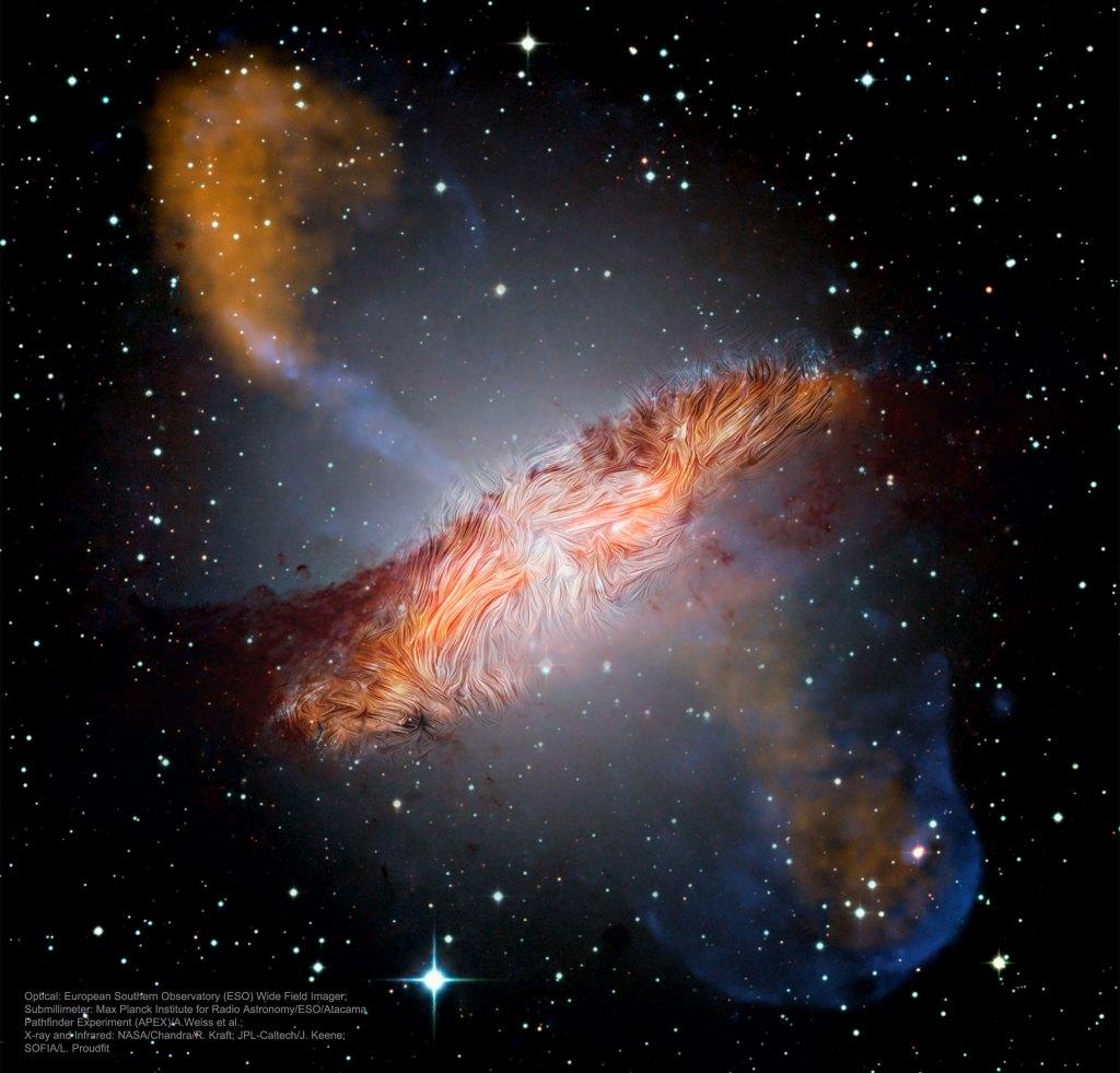 L'Image du jour : l'étrange galaxie Centaurus A (vidéo) By Jack35 1-6-4