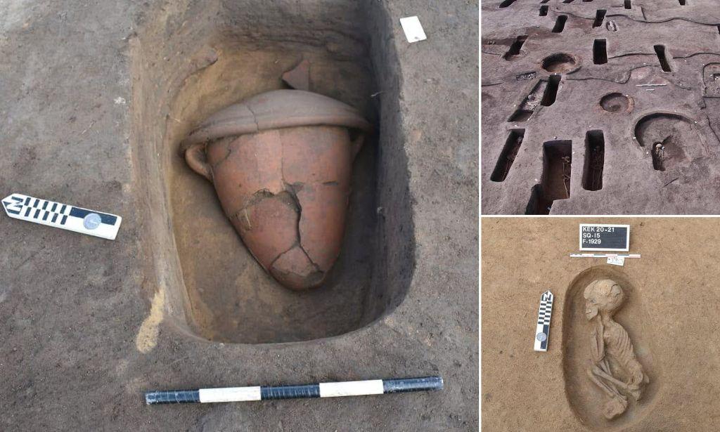 110 tombes de l'Egypte antique mises au jour dans le Nord du pays (vidéo) By Jack35 1-78