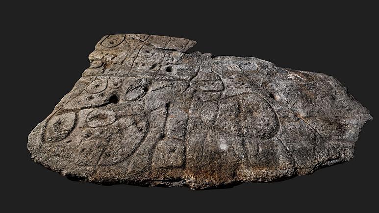 Une dalle de pierre oubliée est peut-être la plus ancienne carte connue d'Europe (diaporama +vidéo sur Bidfoly.com) By Jack35 2-3