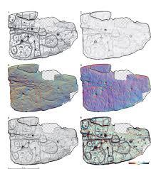 Une dalle de pierre oubliée est peut-être la plus ancienne carte connue d'Europe (diaporama +vidéo sur Bidfoly.com) By Jack35 6-3