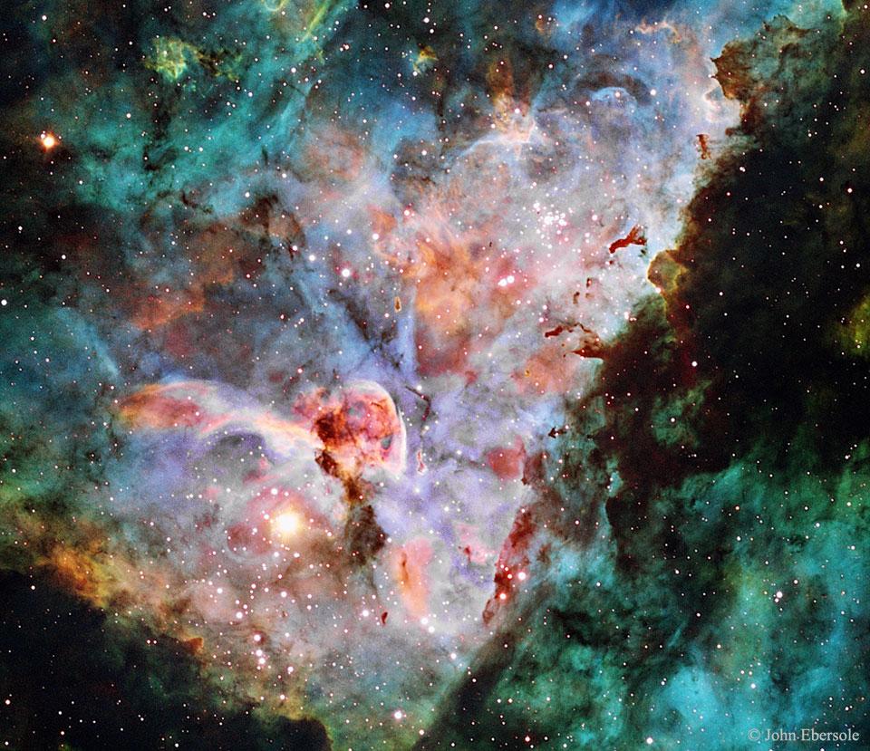 L'image du jour : Les nuages de la nébuleuse de la Carène, NGC 3372 (vidéo) By Jack35 1-21