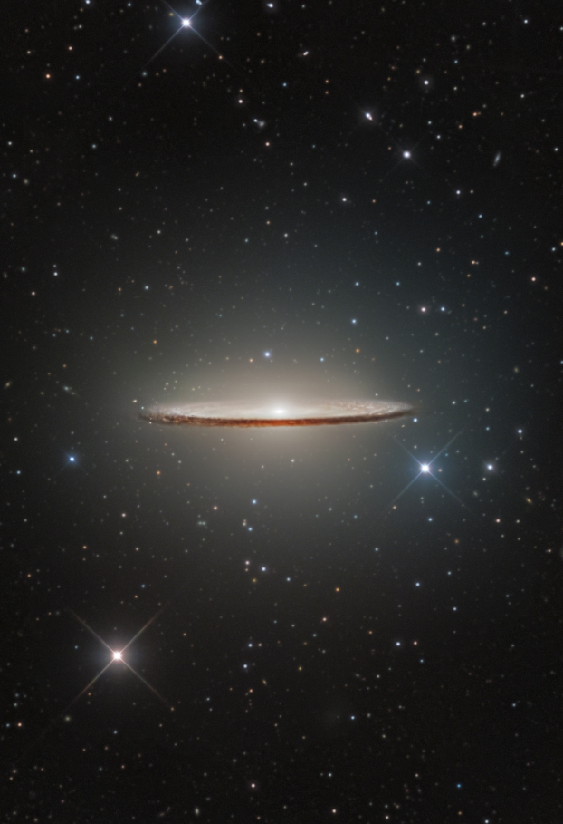 L'image du jour :  La galaxie du Sombrero, M104 (vidéo) By Jack35 1-45