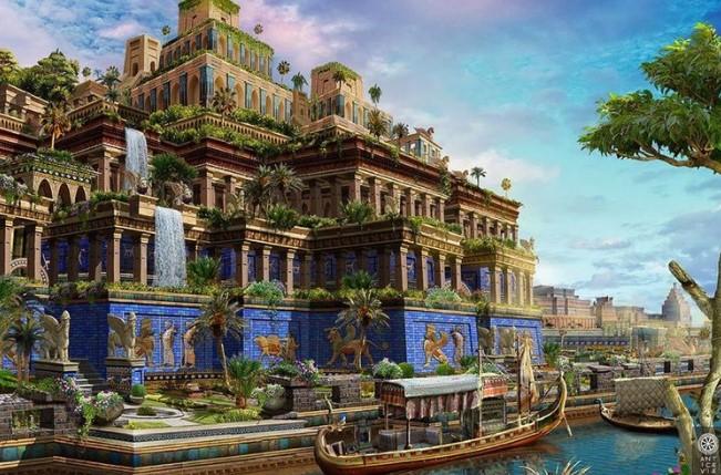 Les jardins suspendus de Babylone : mythe ou réalité ? (vidéo) By Jack35 2-21