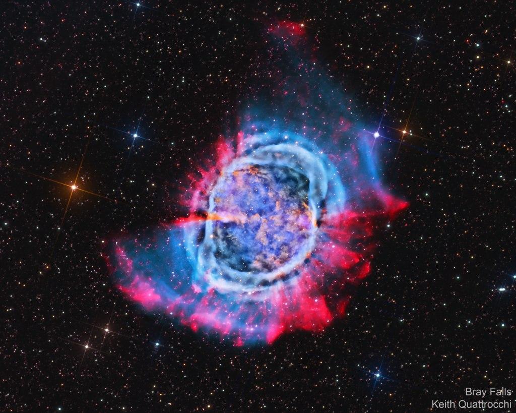 L'image du jour : la nébuleuse de l'Haltère, M27 (vidéo) By Jack35 1-50
